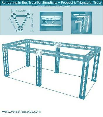 10x20 Truss Trade Show Booth -six Legs