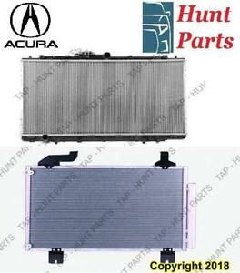 All Acura AC compressor Condenser Radiator Support Fan Cooling Compresseur AC Condenseur Radiateur Support Ventilateur