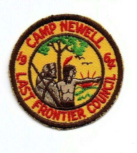 Boy Scout Camp Newell Arkansas 1964 Last Frontier Council Patch