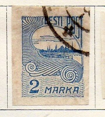 Estonia 1920 Early Issue Fine Used 2m. 103504
