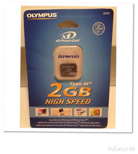 BRAND NEW OLYMPUS M+ XD CARD
