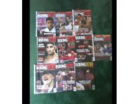 100 boxing news magazines ,all great condition with a good read for all boxing fans or collectors