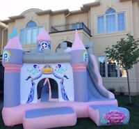 Bounce castle includes delivery and set up and taxes