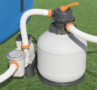 Bestway Swimming Pool 58497 Sand Filter Pump up to 42.300 L Capacity...