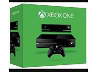 Xbox one 1TB games console with Kinect and games bundle.
