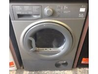 21 hotpoint TCFS83 8kg Silver Sensor Dry Condenser Tumble Dryer 1YEAR WARRANTY FREE DELIVERY