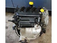 2009 RENAULT CLIO MK3 1.4 16V PETROL ENGINE K4JG780