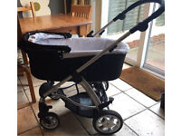 Mamas & Papas Sola Travel System (Carrycot & Pushchair)