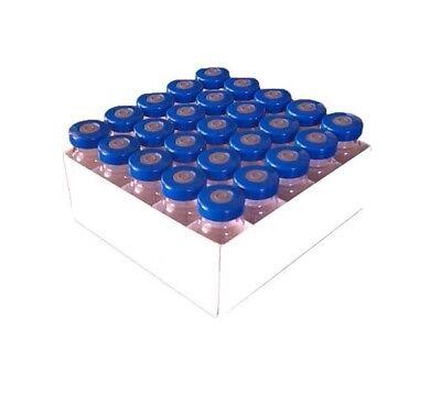 10ml Sterile Serum Injection Vials 25pk Blue Seals