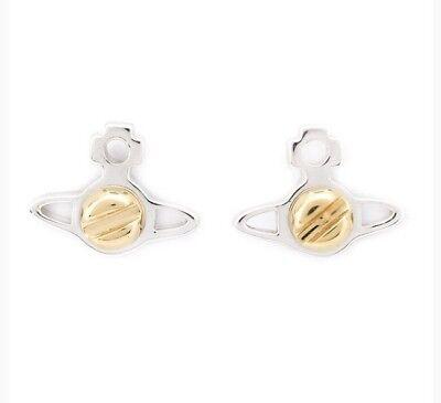 Vivienne Westwood Jolene Petite Earrings - Rhodium / Gold