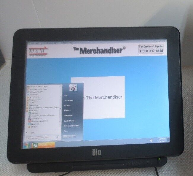 ELO Computer with NiceLabel Pro 6.2 and M&M Label Company The Merchandiser
