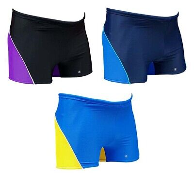 ACCLAIM Fitness Wollongong Boxer Trunks Boys Tie Cord Lycra Swimming (Wollongong Kids)