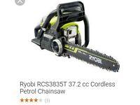 Ryobi Petrol chainsaw.New in box. Free loc