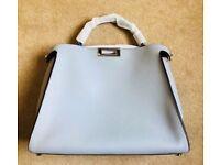 Fendi Peekaboo Large Powder Blue Bag New/Never used