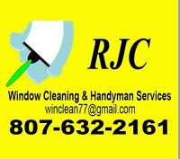 RJC WINDOW CLEANING & HANDYMAN SERVICES