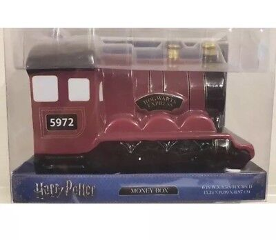 Boxed Hogwarts Express Money Box Harry Potter Ceramic Stocking Filler Xmas Gift