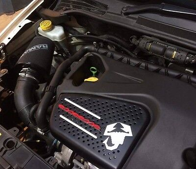 Ramair Performance Induction Intake Air Filter Kit for Fiat Punto Abarth 1.4 T