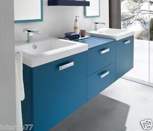Mobile bagno doppio lavandino vari colori ch21 lui e lei l - Lavandino bagno doppio ...