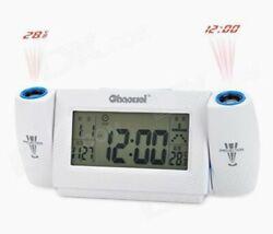 Projection Alarm Clock Radio - Black (649558331053)