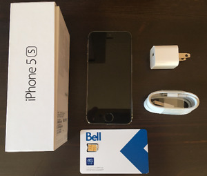 Iphone 5S 16 GB (avec BELL).