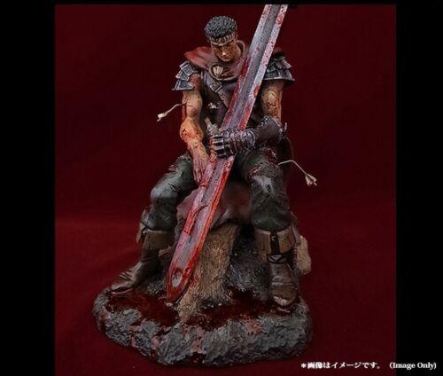 Berserk GUTS The Hundred Man Killer Bloodshed Exclusive Statue Art Of War