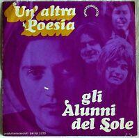 Alunni Del Sole Un Altra Poesia B/w I Ritornelli Infantili 45 Giri 7, -  - ebay.it