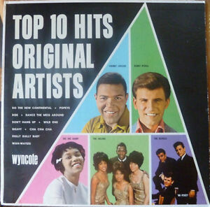 1964 Top 10 Hits Album - Cool R&R / R&B / DooWop Tracks
