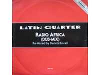 Latin Quarter ‎– Radio Africa (Dub-Mix) 12''