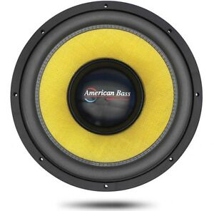 American Bass VFL Subwoofer(s)  *** Barely Used