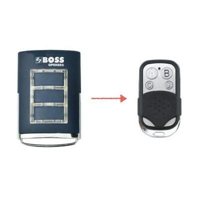 Boss Garage Door Remote BHT3 / BHT-3 / BOSS HT3 Replacement 433MHz BOL4/BOL6/OL4