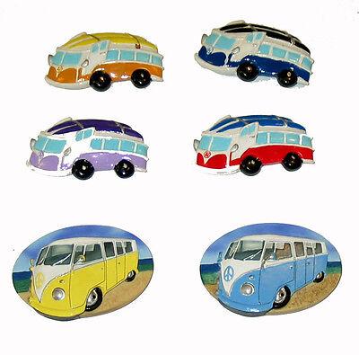 VW campervan Fridge Magnets
