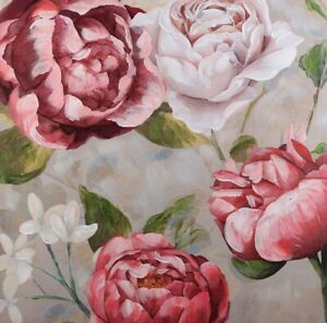 SUMMER GARDEN Floral Painting Print Canvas Wall Art Artwork Flowers Camp Hill Brisbane South East Preview