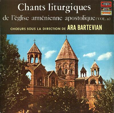 Chants Liturgiques De L eglise Armenienne Vol. 2-Ara Bartevian-French Vogue LP - $7.07