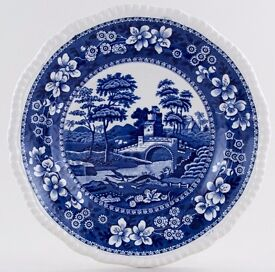 Vintage Copeland Spode China - Spode's Tower Blue Dinner Plate 10.5""