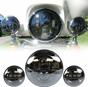 "7"" LED Daymaker Style Headlight, fit's most bikes!"