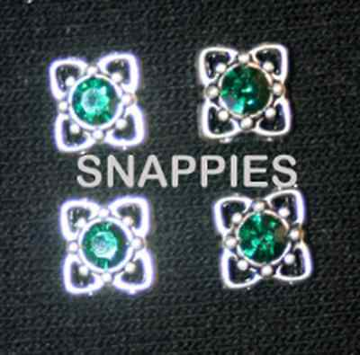 Snappies EMERALD MAGNETIC number pins HALTER EQUITATION