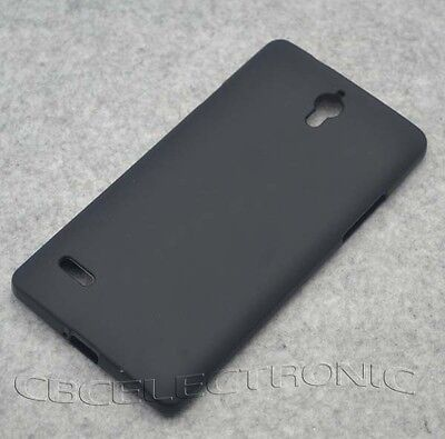 For Huawei Ascend G700 New Black TPU Matte Gel Skin case cover ](huawei ascend g700 cover)