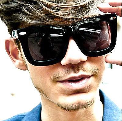 Mens Large Big Square Rectangular Retro Status Oversized WaYFa Sunglasses 122 (Oversized Rectangular Sunglasses)