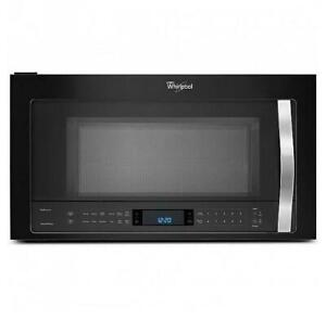 30'' over-the-range microwave, true convection, Whirlpool, black