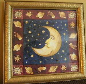 Framed Moon Print London Ontario image 1