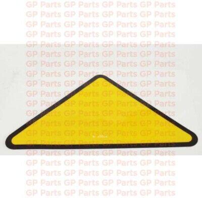 Genie 27207gtdecal - Yellow Triangle S4045s6065s60xs60xcs60trax