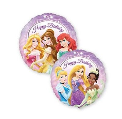 Disney Princess Birthday Balloons (Disney Princess Happy Birthday 18