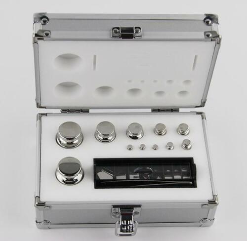 Azzota® ANALYTICAL CALIBRATION WEIGHT SET, ASTM CLASS F1, 0.001G-200G