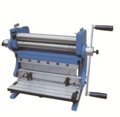 165180 3-In-1 Manual Sheet Metal Shear Brake Roller Bending Machine 305mm