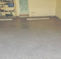 Garage and Basement Floor Refinishing