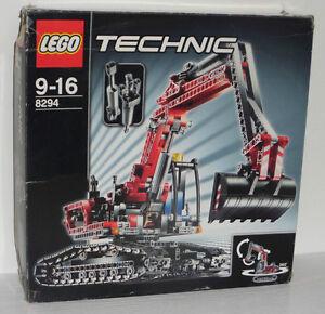 Lego Technic Excavator 8294 inkl. OBA u. Box - <span itemprop='availableAtOrFrom'>Arnfels, Österreich</span> - Rücknahmen akzeptiert - Arnfels, Österreich