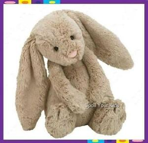 JELLYCAT-Bashful-Bunny-Rabbit-NEW-SOFT-teddy-bear-toy