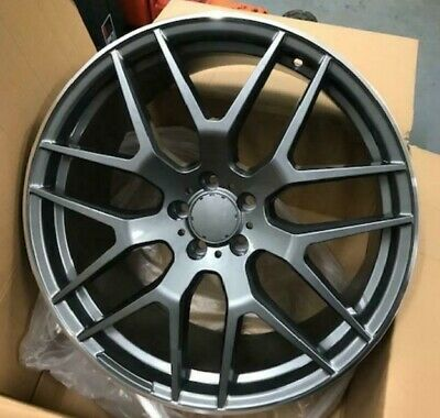 "Used, 21"" grey pol lip alloy wheels for new audi q7 mercedes ml gl bentley with tyres for sale  Shipping to Ireland"