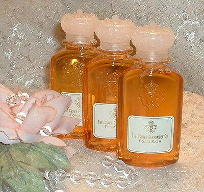 3 Crown Of Gold Perfumery 1.7 Oz / 50ml Each Perfume D Bath Foam