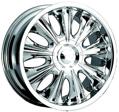 Chrome 18 Inch Cadillac Wheel Vogue Martina Deville Cts Eldorado Sls Sts